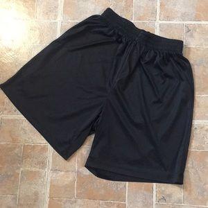 Easton athletic shorts size kids girls large